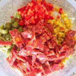 IMG 0987 - Salade de riz au chorizo