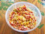 IMG 0989 - Salade de riz au chorizo