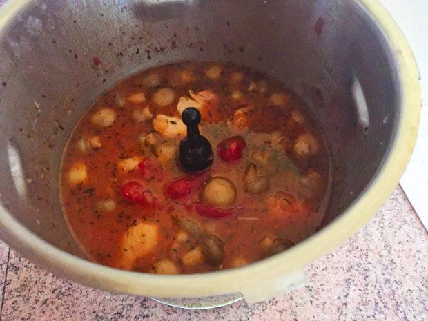 IMG 1181 620x465 - Poulet tomates et champignons (recette Companion)