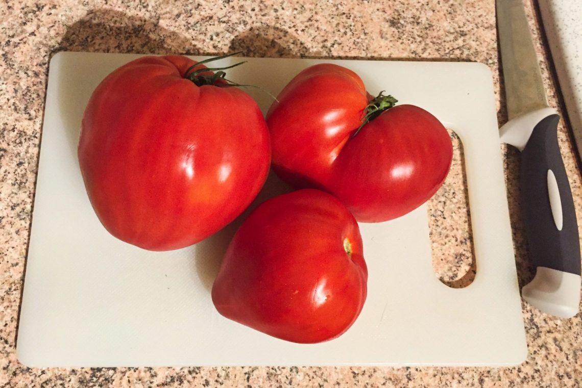 IMG 1325 - Velouté de tomates basilic et chèvre (Recette Companion)