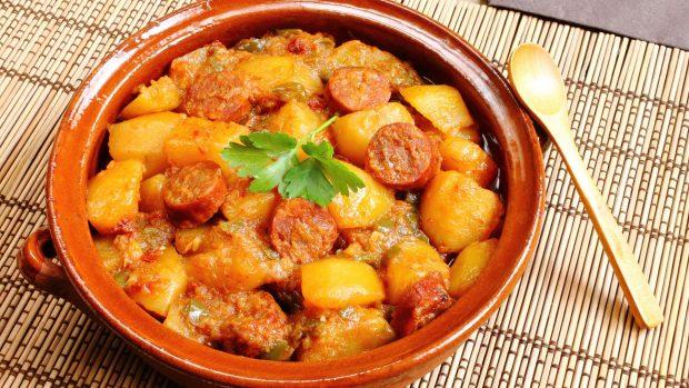 pommes de terre au chorizo - Index recettes Companion