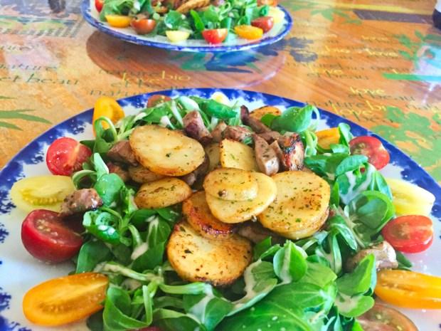 salade aiguillettes canard 1 - Dossier : Grandes salades version plat unique !