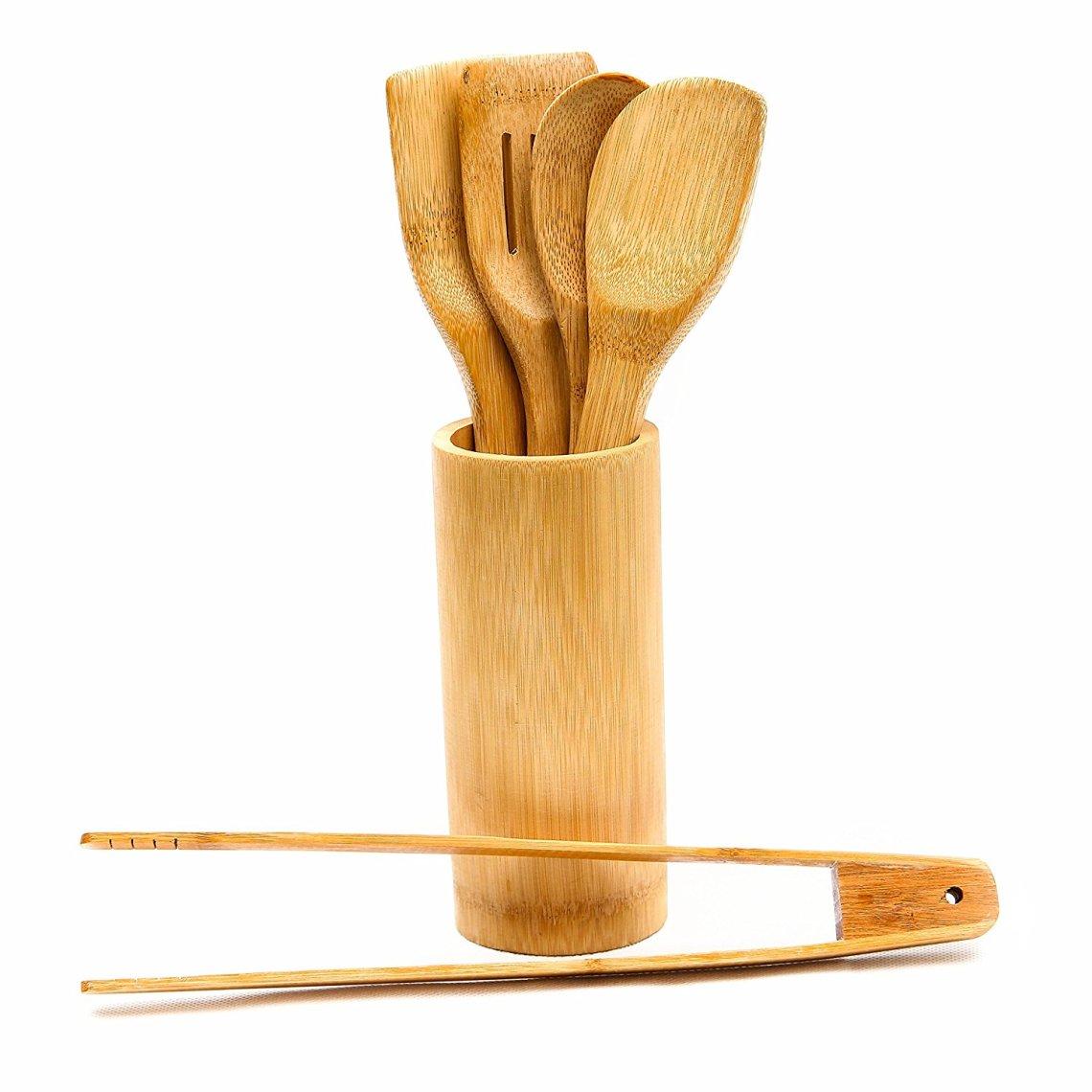 91LE1n4gRzL. SL1500 - On a testé : Les ustensiles de cuisine en bambou Artecsis