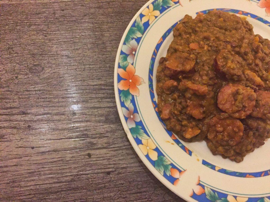IMG 1702 - Saucisses lentilles (recette Companion)