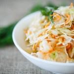 coleslaw3 - Coleslaw (salade chou / carotte)
