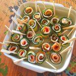 IMG 2033 - Roulés apéritifs courgettes, fromage frais, saumon fumé