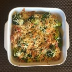 IMG 2445 - Gratin de brocolis aux lardons