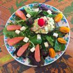 IMG 3770 - Avocat mimosa, salade et saumon fumé