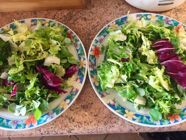 IMG 4090 - Salade poulet, bacon, tomate et artichaut