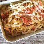 IMG 4108 - Nouilles de konjac à la crème et au bacon grillé