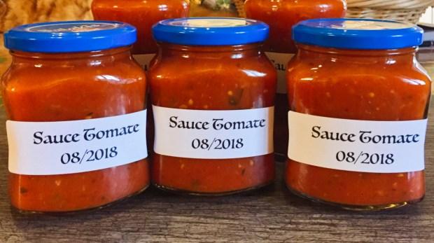 IMG 4244 - Sauce tomate (Bocaux à stériliser ou pas)