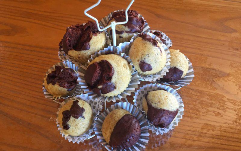 IMG 4524 - Zebra cake vanille-chocolat (Gâteau zébré / tigré)