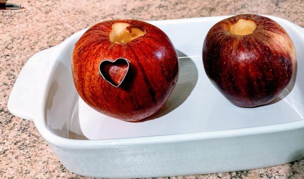 IMG 6114 620x365 - Pommes au four au miel