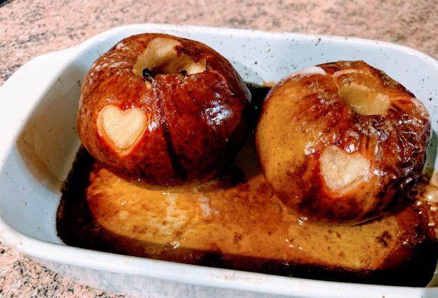 IMG 6119 620x422 - Pommes au four au miel