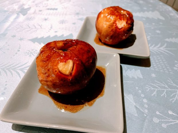 IMG 6120 620x465 - Pommes au four au miel