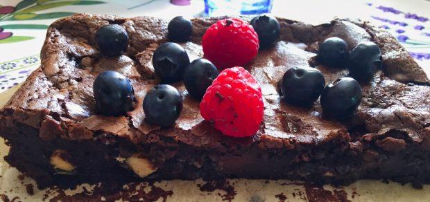 IMG 7456 620x292 - Fondant aux 2 chocolats et fruits rouges