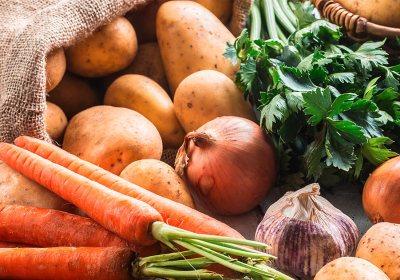 cover février - Dossier : Fruits et légumes de saison au mois de février