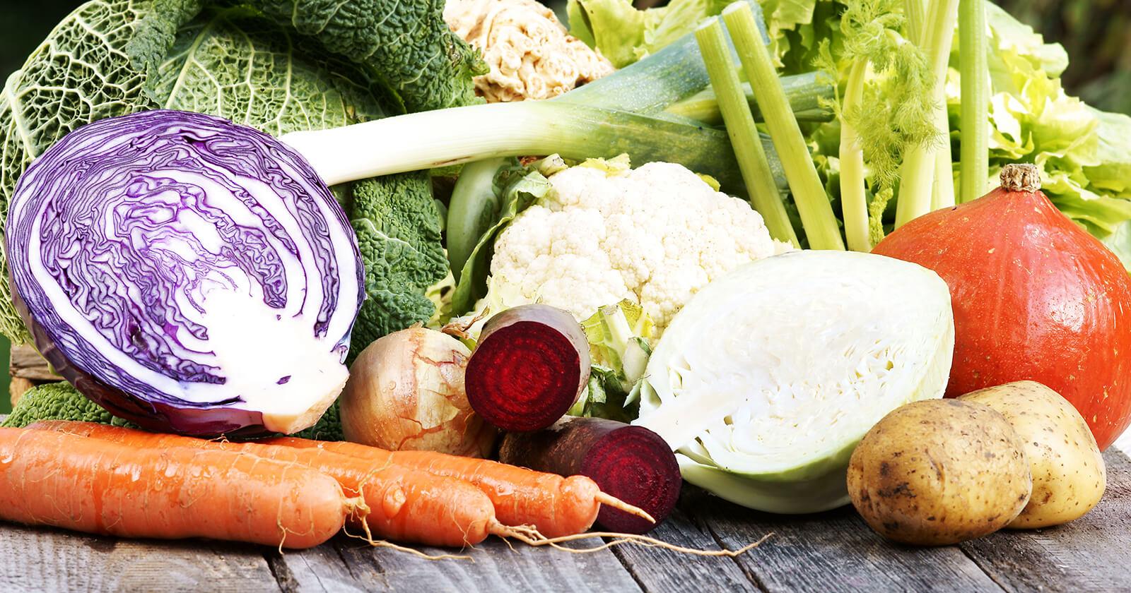 cover janvier - Dossier : Fruits et légumes de saison au mois de janvier