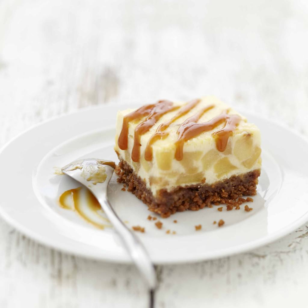 Cheesecake Normand pommes spculoos et carr frais Made in normandy Les recettes de cuisine