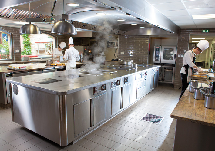 cuisine inox professionnelle