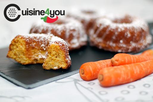 Bizcocho de zanahoria y miel
