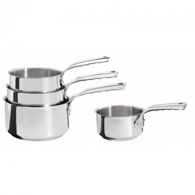 batterie cuisine induction casserole inox o 14 16 18 20 cm milady de buyer