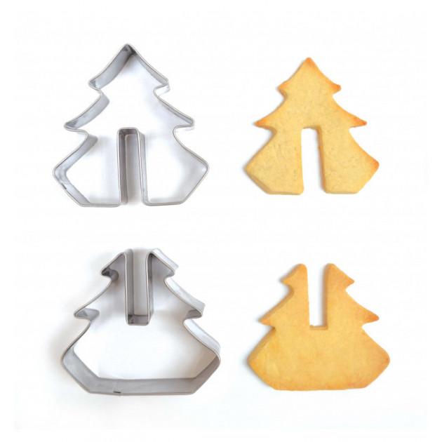 emporte pieces inox biscuits noel 3d scrapcooking