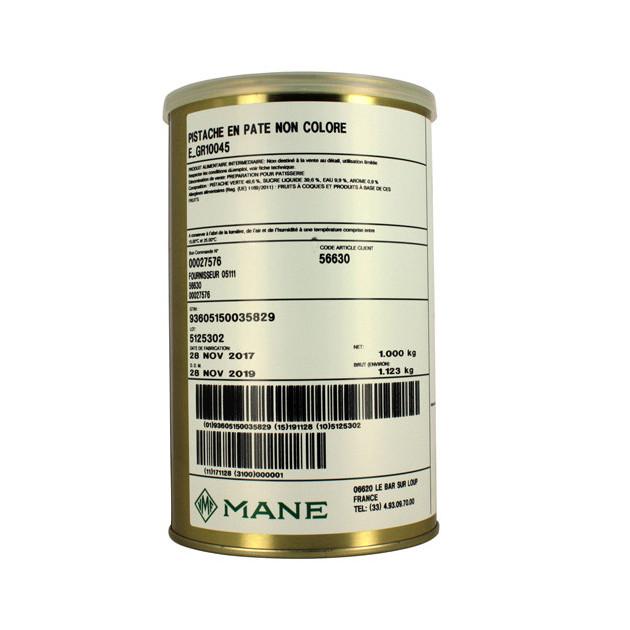 pate de pistache non coloree 1 kg mane