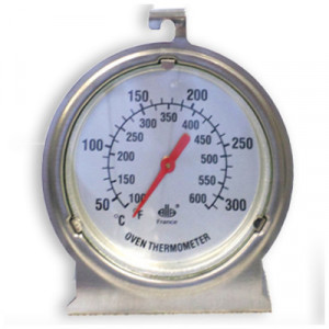 thermometre four sonde inox avec alarme