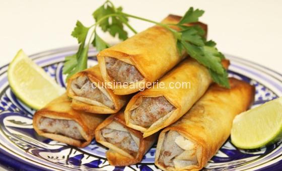 Bourek de viande hachée algérois
