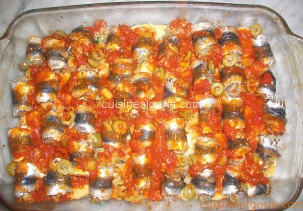 Gratin de sardines aux pommes de terre - Préparation