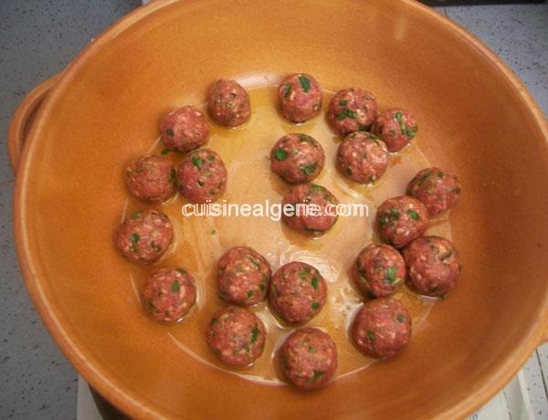 Boulettes de bœuf aux épices à la marocaine