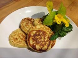 Gluten free yogurt pancakes