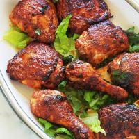 Poulet tandoori au four ou poêle - recette facile