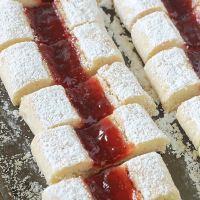 Gâteaux croquets fondants à la confiture - krokis