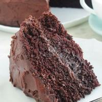 Gâteau au chocolat hyper moelleux et ganache
