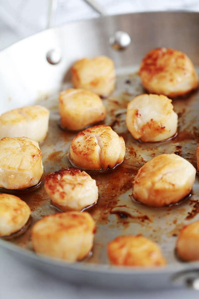 noix de saint jacques poelees au beurre ou a l huile d olive