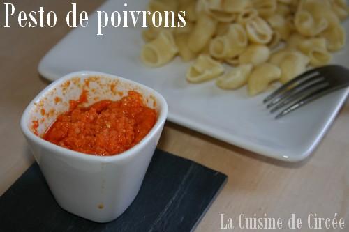 Pesto de poivrons