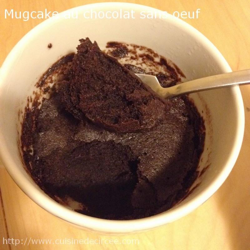 Envie D Une Douceur Rapide Vite Un Mug Cake Au Chocolat Sans Oeuf