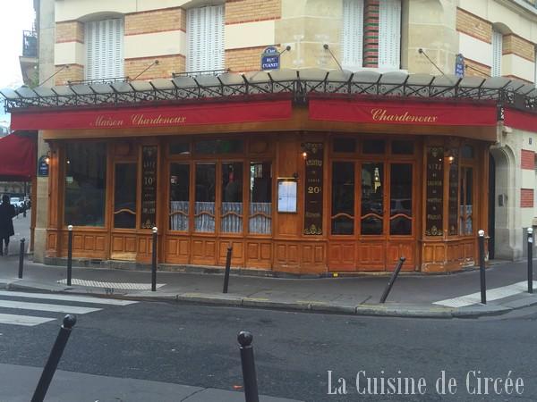 Mon déjeuner chez Cyril Lignac, au Chardenoux