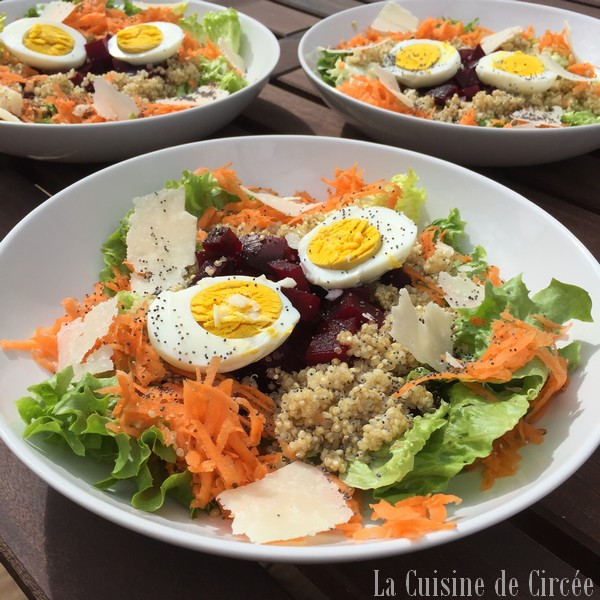 Salade repas de mars