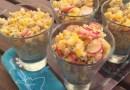 Salade de quinoa, radis et maïs