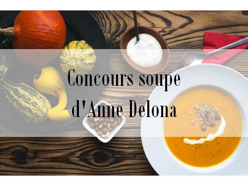 Commercialisez votre soupe lors du concours soupe d'Anne Delona