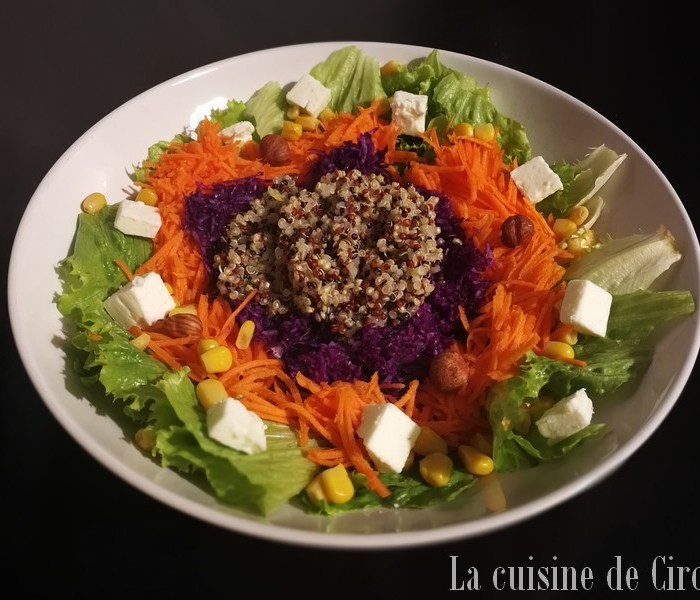 Salade de février
