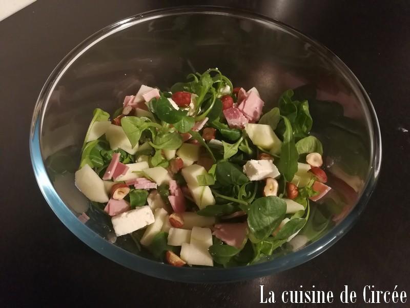 Salade de janvier