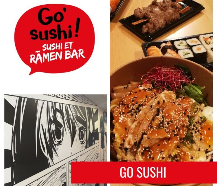 Go Sushi, le sushi et ramen bar