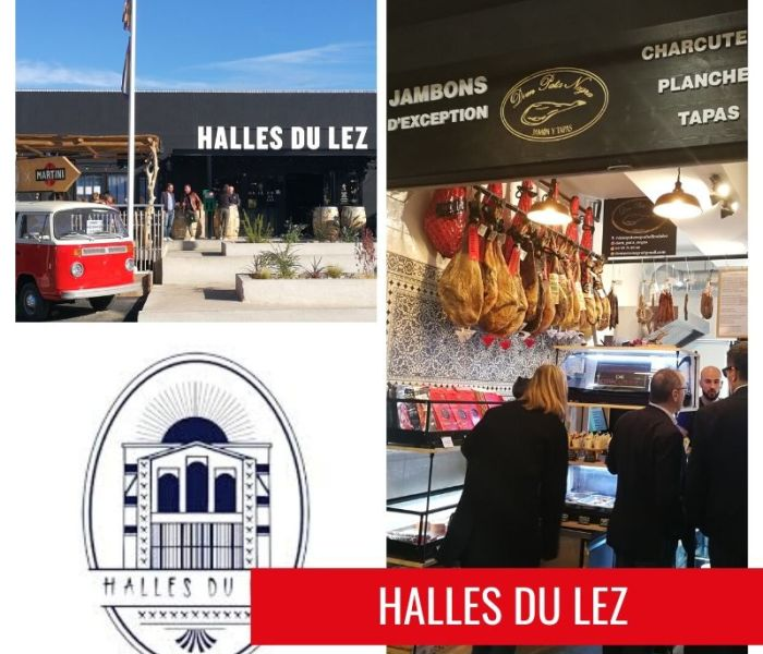 Les Halles du Lez, Food Court de Montpellier