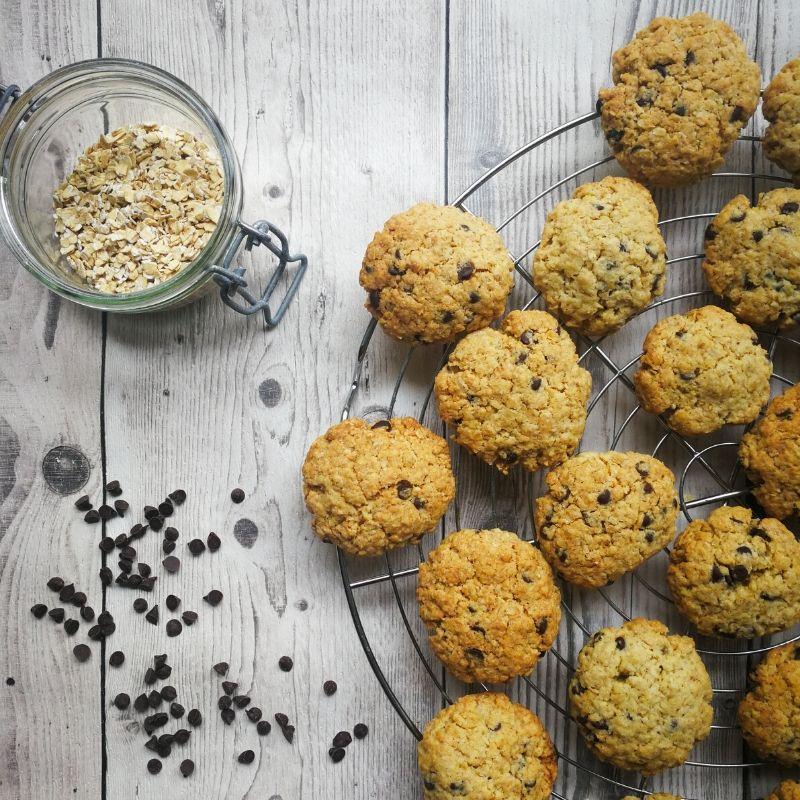 Cookies aux flocons d'avoine de martha stewart