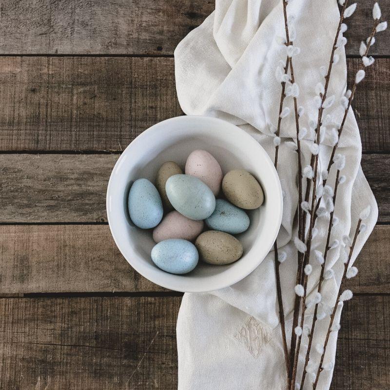 Pâques pendant le confinement