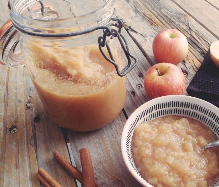 Faire ses conserves de compote de pommes